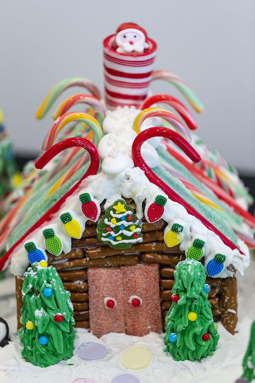 Gingerbread houses on display at Fuquay-Varina Arts Center